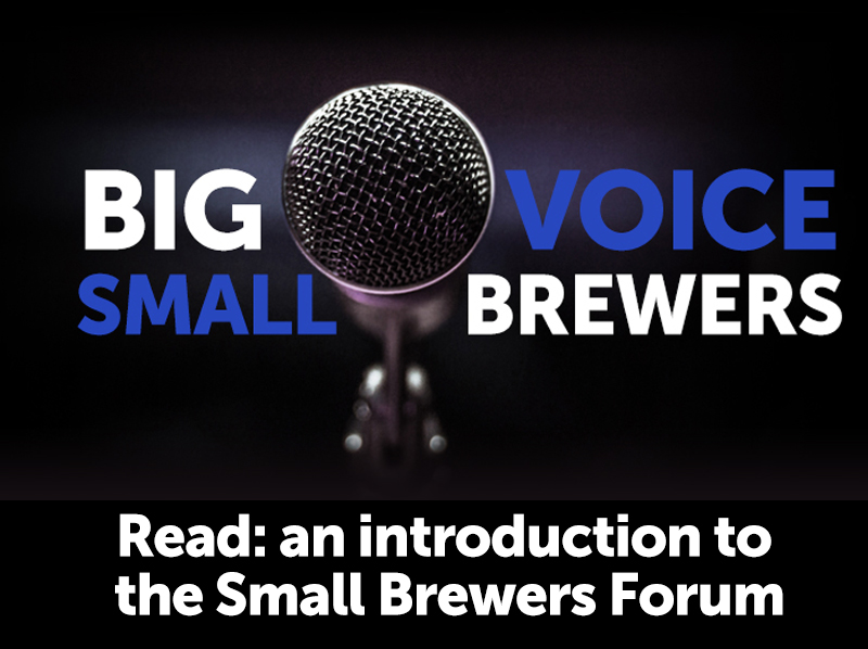 The big voice for small brewers