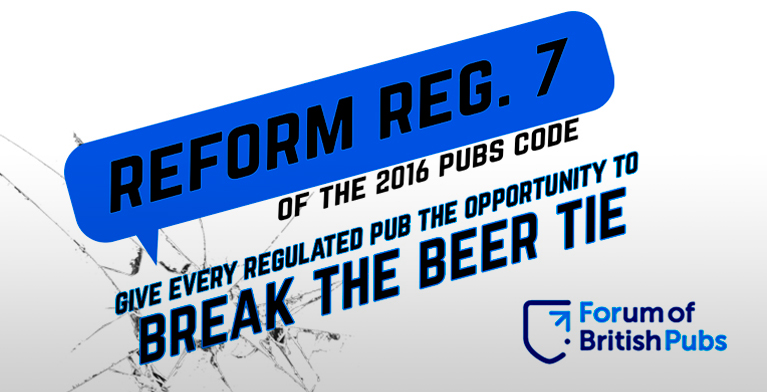 Reform Regulation 7 Pubs Code